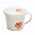 ■磁器単品■蓋付マグカップ かぼちゃ