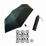 自動開閉折りたたみ傘< HANA >【晴雨兼用】
