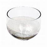 ■ガラス単品■銀箔ロックグラス