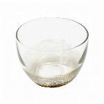 ■ガラス単品■銀箔冷茶カップ