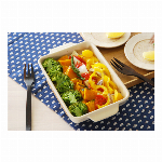 ■美濃焼耐熱陶器【Hygge style グリルパン】中(3色)