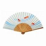 ■夏商品■扇子 流水金魚
