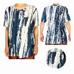 タイダイTシャツ 木目風 エスニックファッション