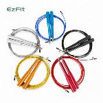 EZFIT 大人用 ベアリング ジャンプロープ 縄跳び  5色各20個 計100個セット