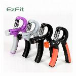 EZFIT 負荷調節式 ハンドグリップ 4色各25個 計100個セット
