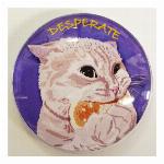 猫マグネット Cat desperate