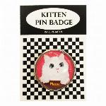 猫ピンバッチ ねこピンズ ミャオ Cat meow  猫イラスト Cat Pins