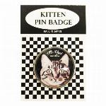 猫ピンバッチ ねこピンズ おすまし La chat 猫イラスト Cat Pins