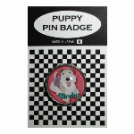 犬ピンバッジ ドッグpins ワイヤーフォックステリア GR 20mm