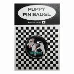犬ピンバッジ ドッグpins ポメラニアン 20mm