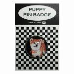 犬ピンバッジ ドッグpins ワイヤーフォックステリア BL 20mm