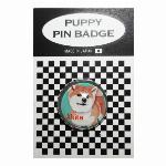 犬ピンバッジ ドッグpins トイプードル キャンディー3 20mm