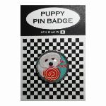 犬ピンバッジ ドッグpins トイプードル キャンディー1 20mm
