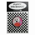 犬ピンバッジ ドッグpins トイプードル キャンディー2 20mm