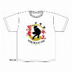 忍者Tシャツ 白 和柄Tシャツ 日本のお土産