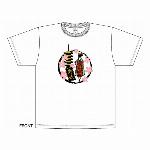 【特価20%OFF】舞妓Tシャツ 白 和柄Tシャツ 日本のお土産