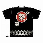 祭りTシャツ 黒  和柄Tシャツ 日本のお土産