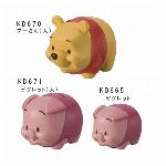 【ディズニー】くまのプーさん&ピグレット貯金箱
