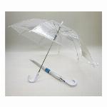 60cm ビニールジャンプ傘 透明 60本セット /型番#507