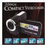 2.0インチ コンパクトビデオカメラ ZX-004