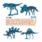 hacomo DINOSAUR BLUE 2 3種類
