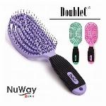 NuWay Double C ヘアブラシ ダブルC ニューウェイ(6色)