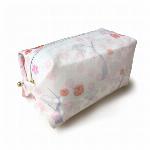 wagashi 和菓子 ボックスポーチ 3月 早蕨