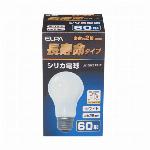 長寿命シリカ電球 60W形 E26 ホワイト