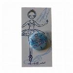 itscorbeille ballet 台紙付き缶バッチ