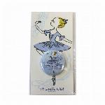 itscorbeille ballet 台紙付き缶バッチ 【オーロラ】