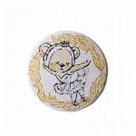 itscorbeille ballet 台紙付き缶バッチ 【くるみ割り人形】
