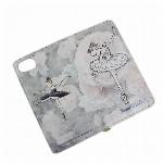 itscorbeille ballet ミラー付 手帳型 iPhoneカバー(M)白鳥の湖