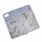 itscorbeille ballet ミラー付きiPhoneカバー ジゼル【iPhone6,6S,7,8対応】
