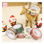 【クリスマス!!人気の☆】Christmas マスキングテープ