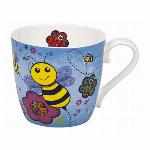 【特価品】ドイツ・KONITZ 青いミツバチ Mug Bee - Blue マグカップ (ボーンチャイナ)