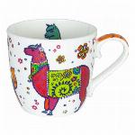ドイツ・KONITZ カラフルアニマルズ Dog Mug (BC)
