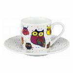 ドイツ・KONITZ カラフルアニマルズ Cat Mug (BC)