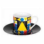 ドイツ・KONITZ バウハウス ティポリー スクエアー   espresso