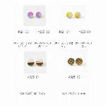 【通常卸値より特価55%OFF】和紙ピアス・イヤリング サイズ大 日本製/和紙/..