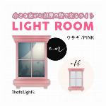 LIGHT ROOM 04ウサギ PINK  2020新作