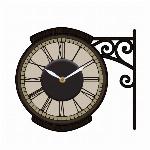 [新作]ウォールクロックステッカー2 カフェ  時計ステッカー STREETCLOCK