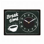 [新作]ウォールクロックステッカー2 カフェ 時計ステッカー CHALK BOARD 1