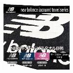 【ニューバランス new balance】NBジャガード ロゴマークB柄バスタオル