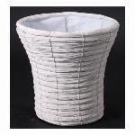 白塗結束経木シンヒ゛深6号鉢カハ゛ー