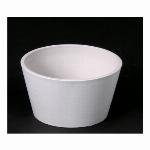 リサイクルポット(ホワイト)アレンジ皿 M