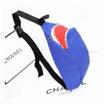 サメバック シャークポーチ shark 鮫ボディバッグ