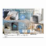 乾燥を防ぐコンパクトクーラー ★RS-E1309 ミストポータブルクーラーファン★