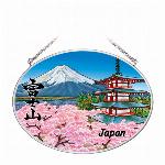 ステンドグラス風サンキャッチャー「Mt. Fuji」日本限定商品 Mサイズ
