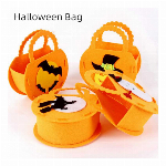 Halloween Bag バッグ ハロウィン ハロウィンティーバッグ カボチャの袋 手提げバッグ 立体