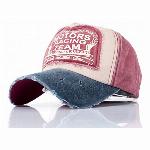 ARIAKE綿100%レトロ水洗いデニム野球帽、キャップ UVカット調節できます。男女兼用です